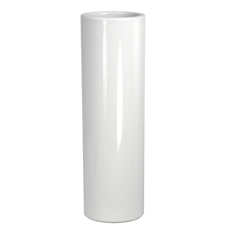 Nageire Ikebana Container - Glossy White