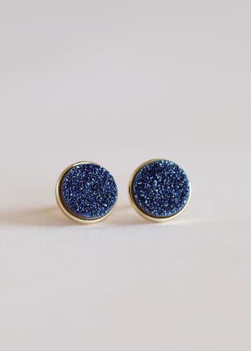 Jax Kelly Peacock Druzy Clusters Earrings