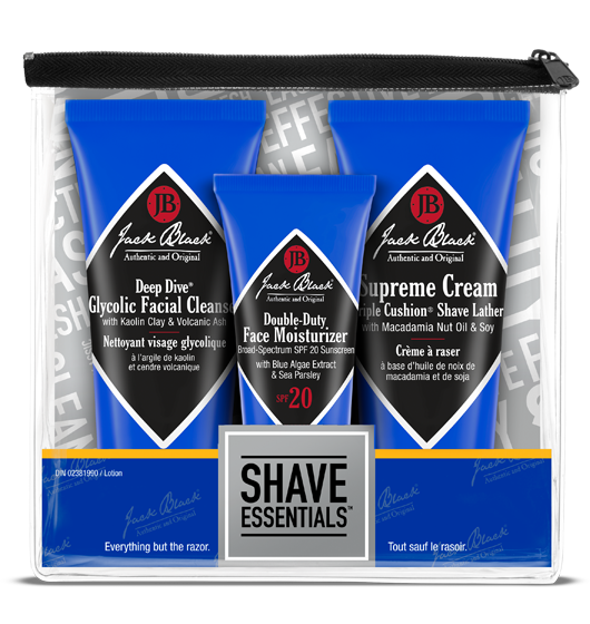 Jack Black Shave Essentials Kit