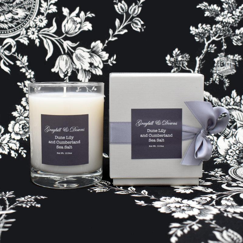Graybill & Downs Dune Lily and Cumberland Sea Salt Candle