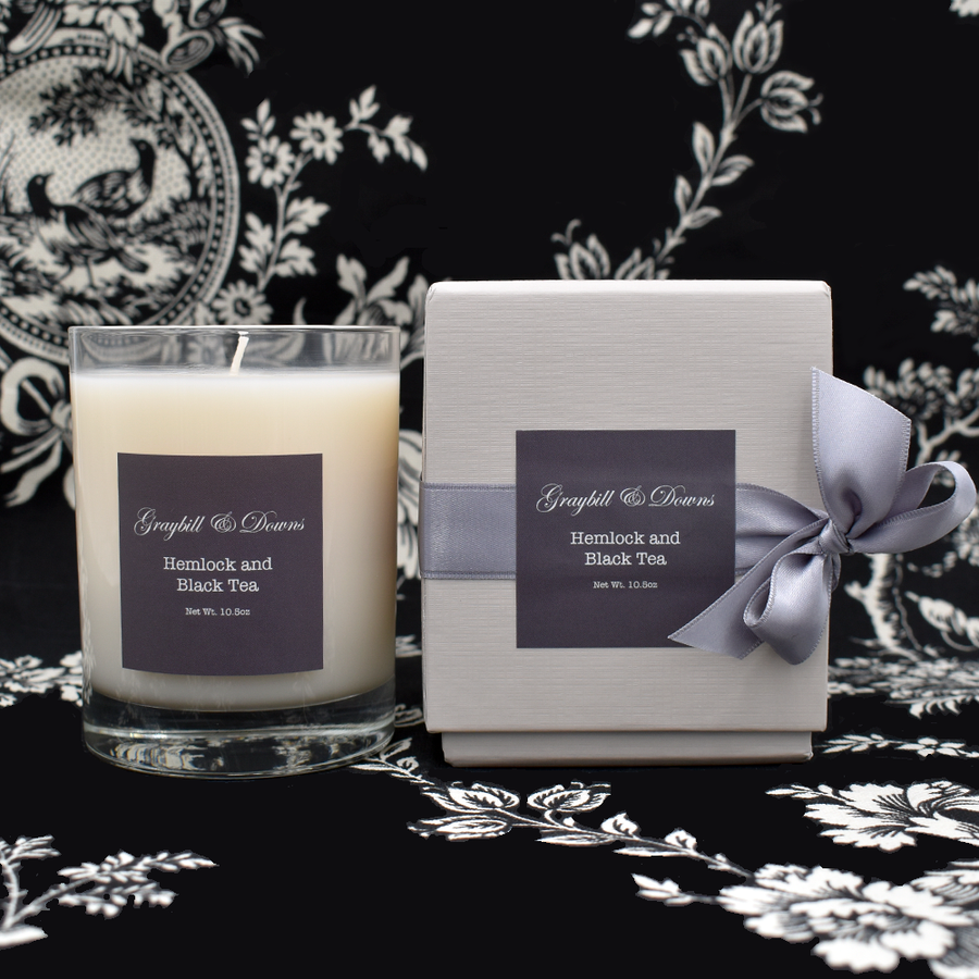Graybill & Downs Hemlock and Black Tea Candle