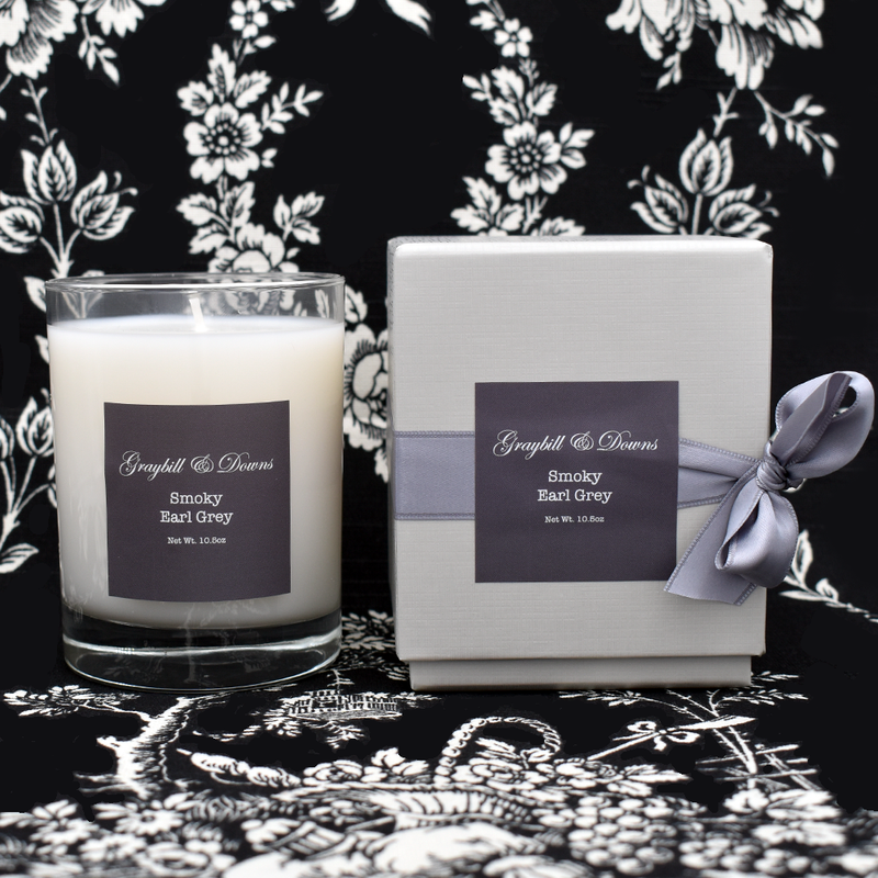 Graybill & Downs Smoky Earl Grey Candle