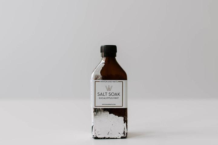 Winton & Waits Eucalyptus Mint Salt Soak 8.5oz