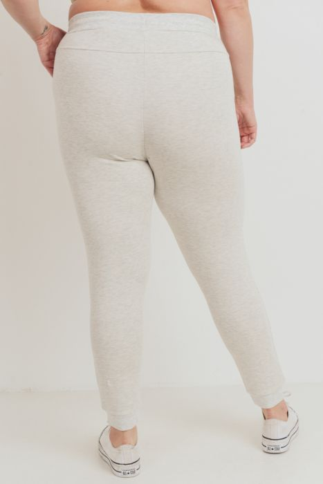 Mono B Grey Brushed Essential Sweatpants