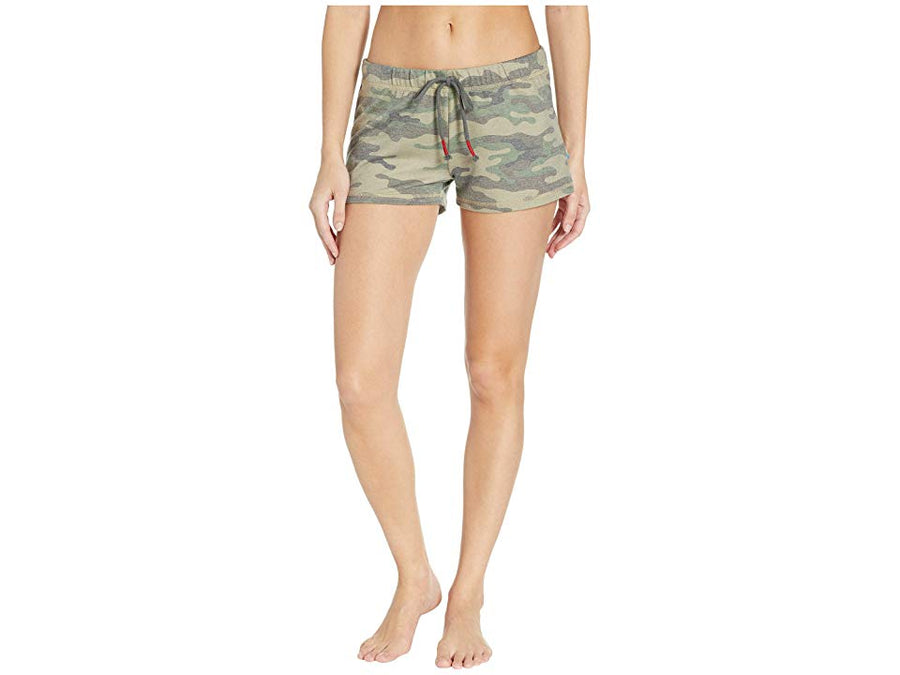 P.J. Salvage Camo Olive Shorts