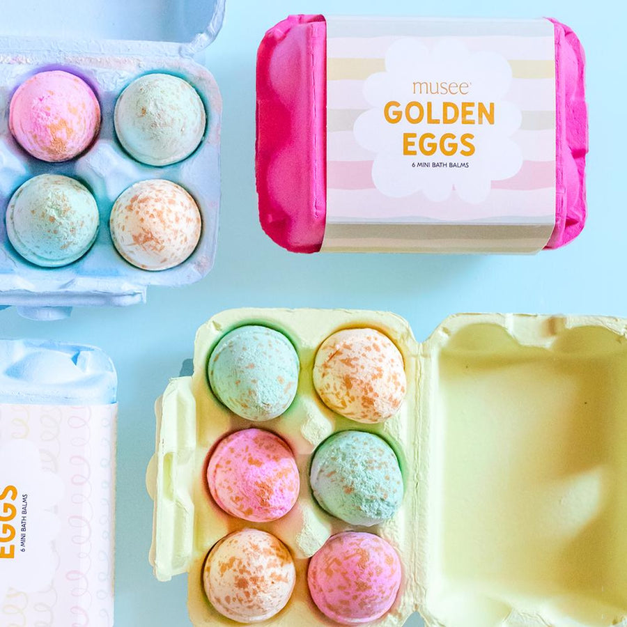 Musee Golden Eggs Bath Balm Set