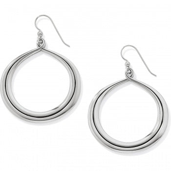 Brighton Interlok Circle French Wire Earrings