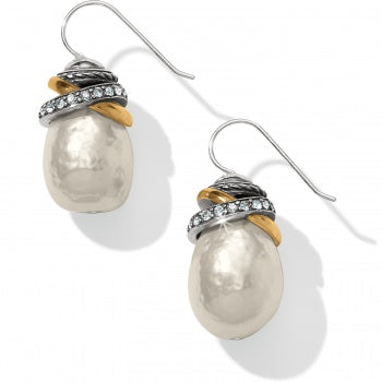 Brighton Neptune's Rings Pearl French Wire Earrings