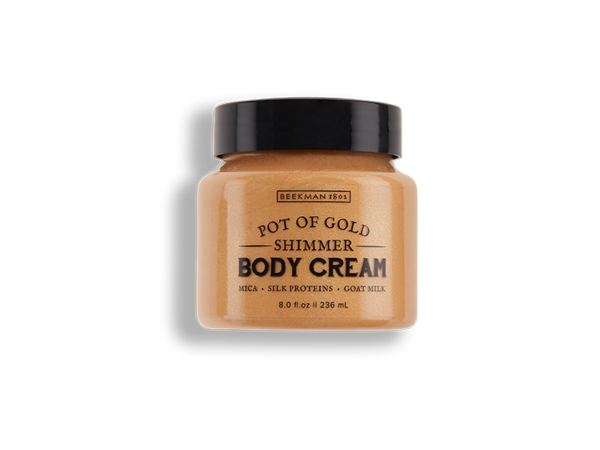 Beekman Pot Of Gold Shimmer Whipped Body Cream