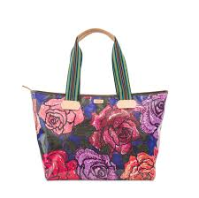 Consuela Royal Rosie Zipper Tote