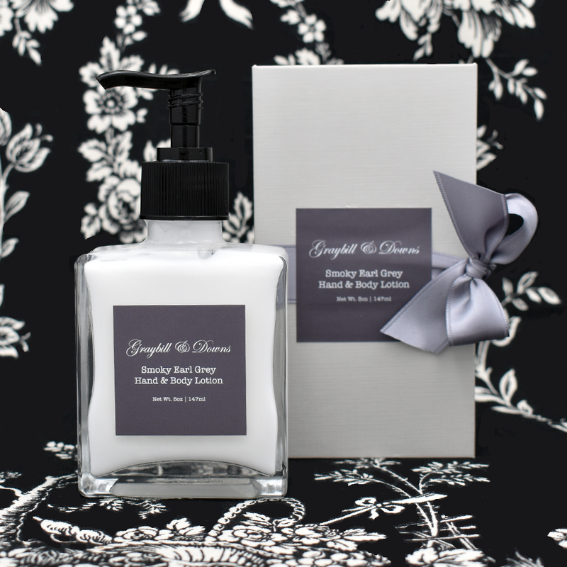 Graybill & Downs Smoky Earl Grey Lotion