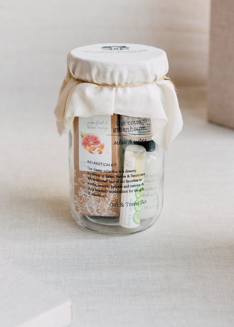 The Cottage Greenhouse Relaxation Gift Set