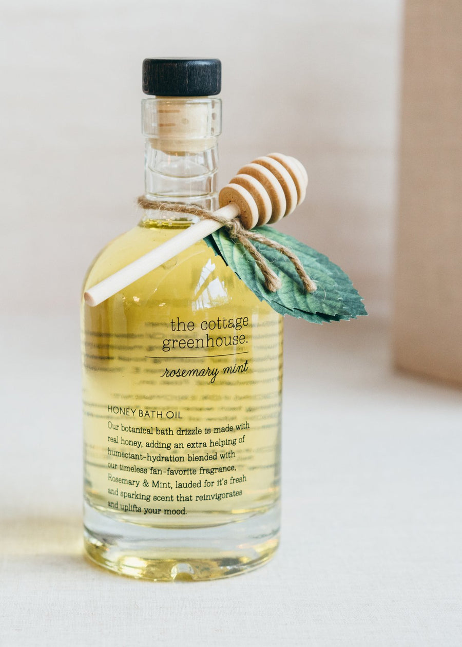 The Cottage Greenhouse Rosemary Mint Bath Oil