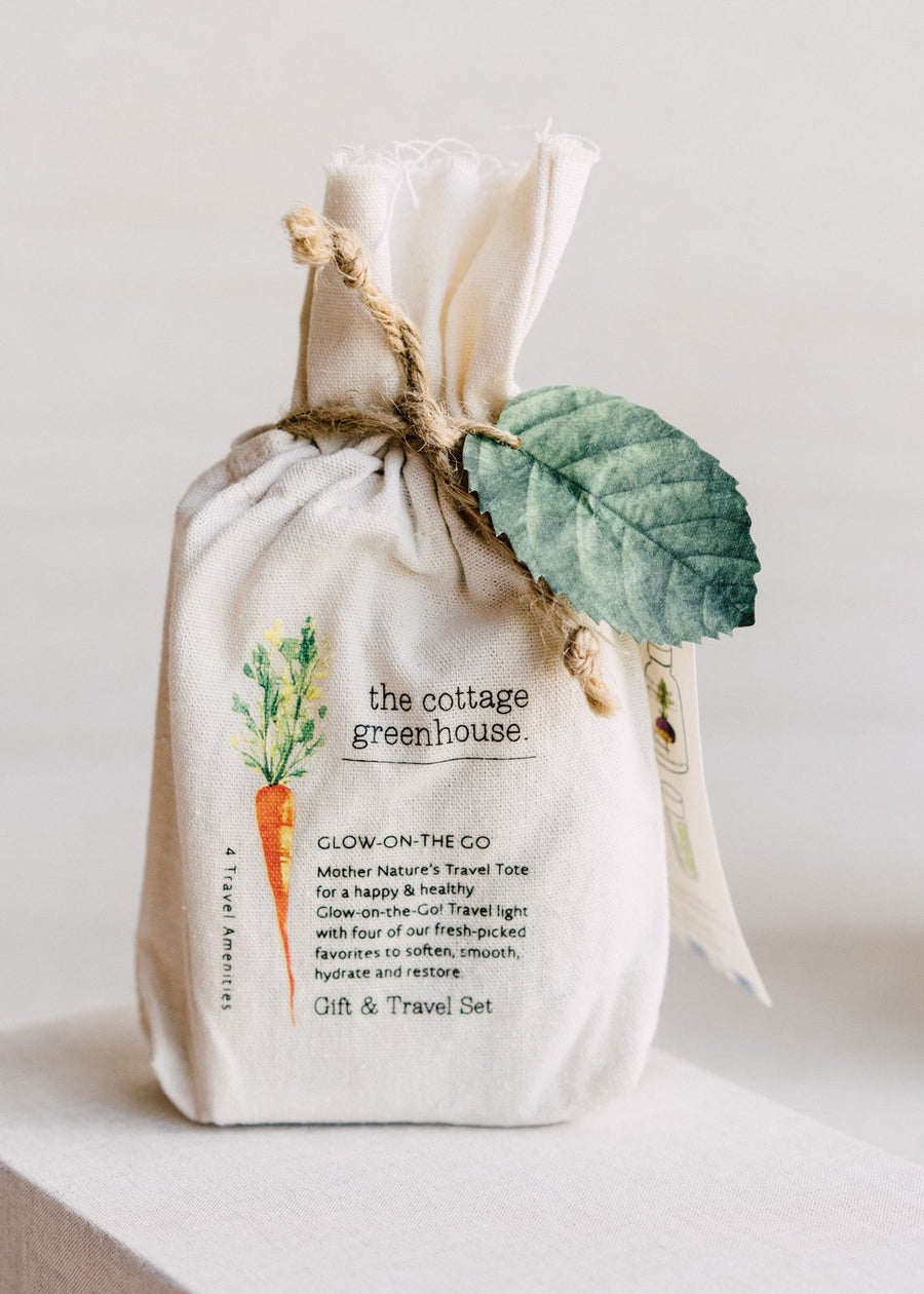 The Cottage Greenhouse Veggie Gift & Travel Set