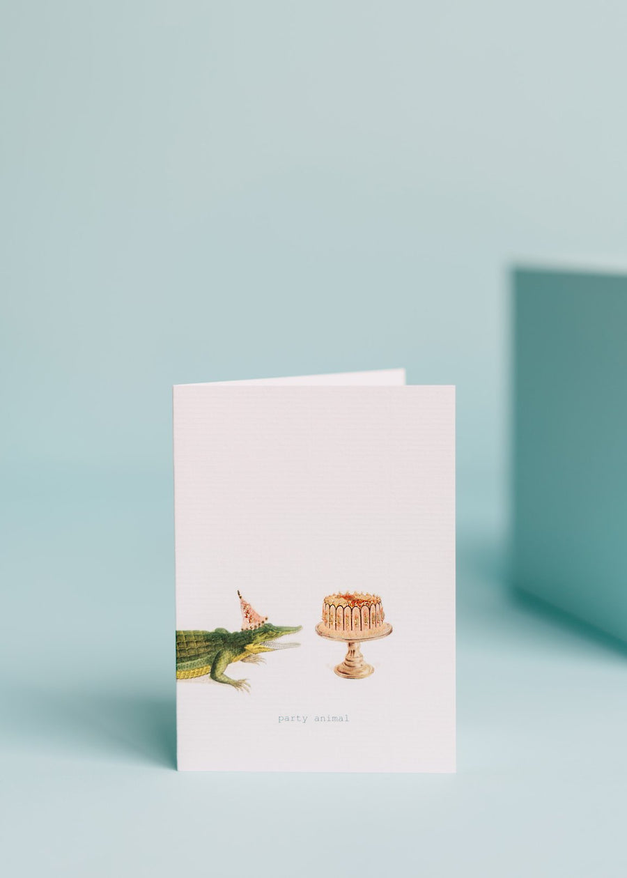 Portico Party Animal Card