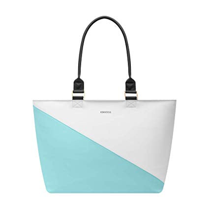 Corkcicle Virginia Tote Cooler-Turquoise Wedge