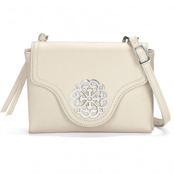Brighton White Ferrara Eve Messenger Crossbody