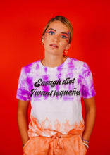 Load image into Gallery viewer, Enough Diet I want Tequeños T-shirt