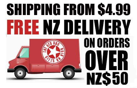 The Red Dog Gifts - Free Shipping New Zealand