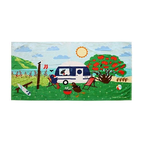Going Places Summer - Beach Towel