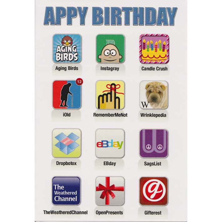 Card - Appy Birthday