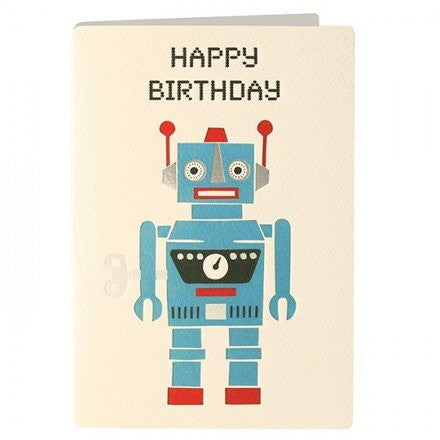 Card - Birthday Robot