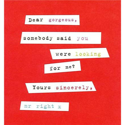 Card - Dear Gorgeous