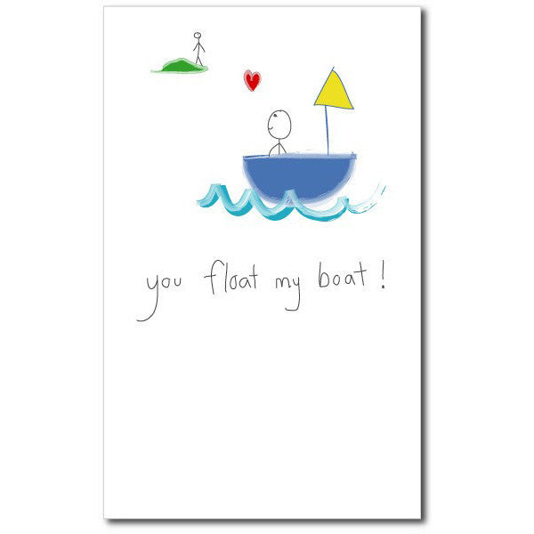 Card - Float My Boat