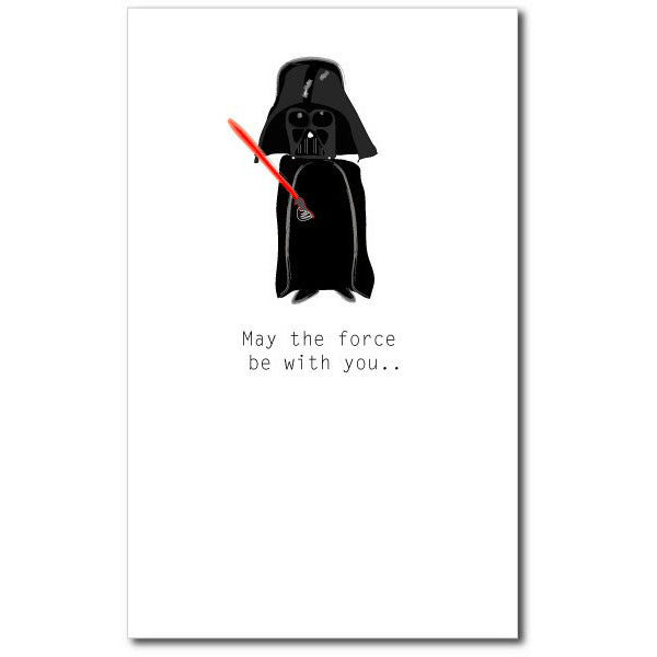 Card - May The Force