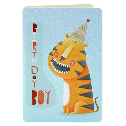 Card - Tiger Birthday Boy