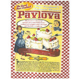 Retro Pavlova Tea Towel