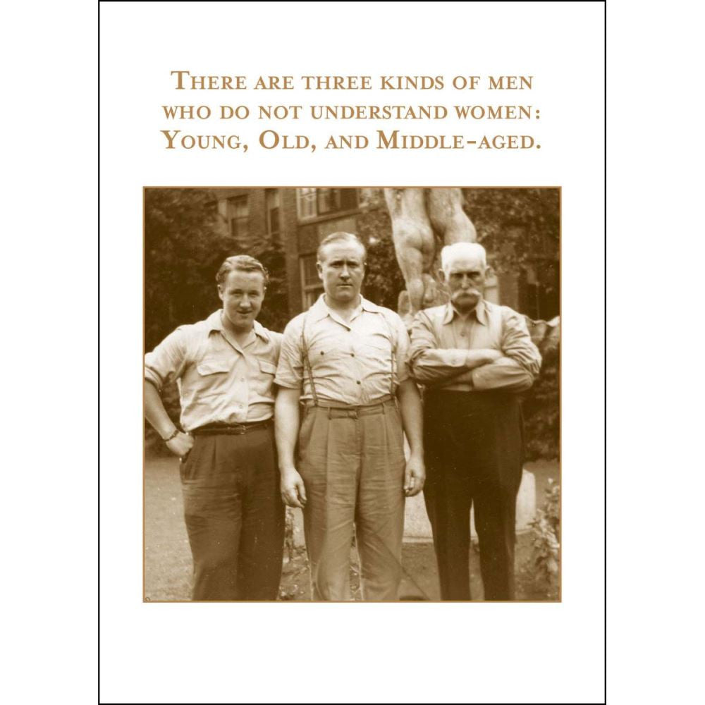 Card - Three Kinds of Men