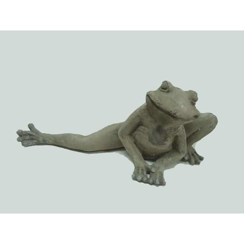Ceramic Frog Stretched Leg
