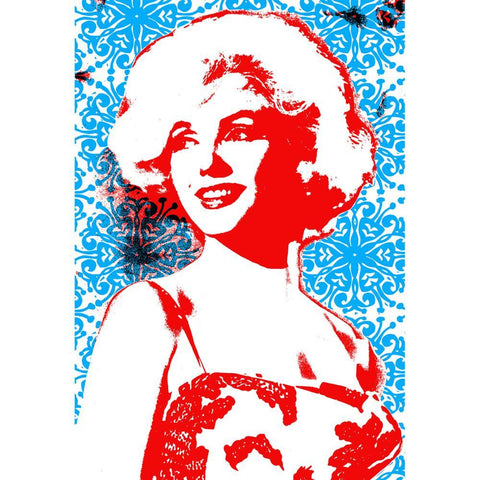 PJ Marilyn Monroe Tea Towel - 2 Tone