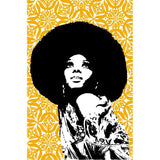 PJ Diana Ross Tea Towel - 2 Tone