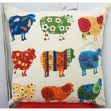 Sheep Applique - Kiwiana Cushion Cover