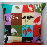 NZ Birds & Plants & Kiwiana Cushion Cover