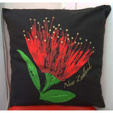 Kiwiana Cushion Cover - Pohutakawa