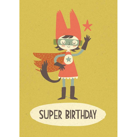 Card - Super Birthday Girl