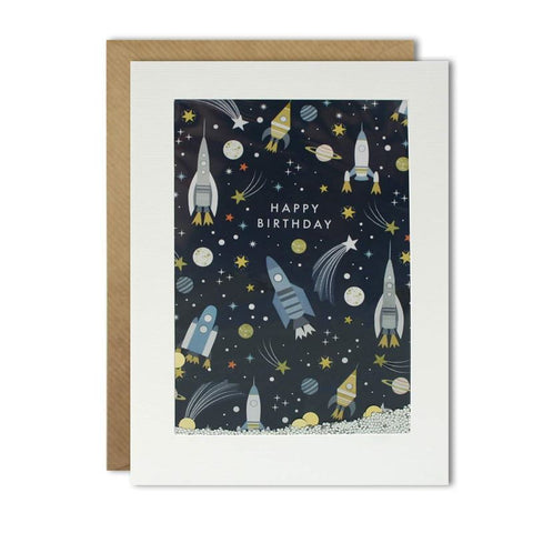Card - Birthday Rockets