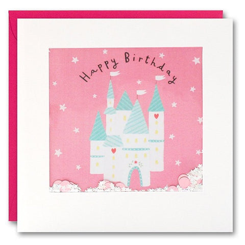 Card - Happy Birthday Castle Shakie