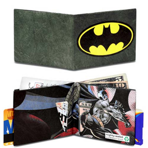 Batman Logo - Mighty Wallet Tyvek