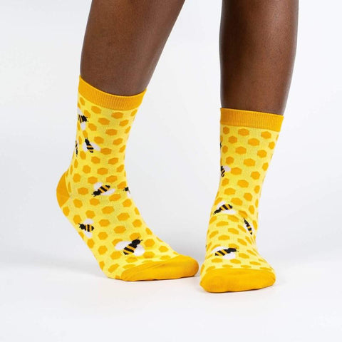 Bees Knees - Women's Crew Socks