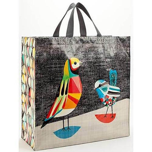 Blue Q Shopper Bag - Pretty Bird