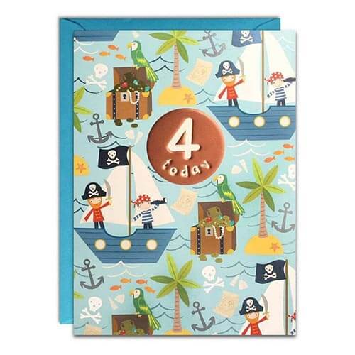 Card - 4 Today Pirates