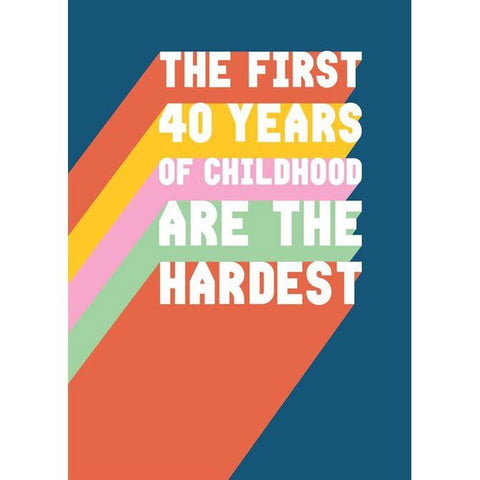 Card - First 40 Years