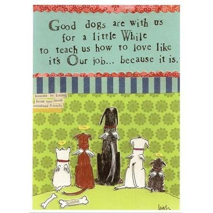 Card - Good Dogs