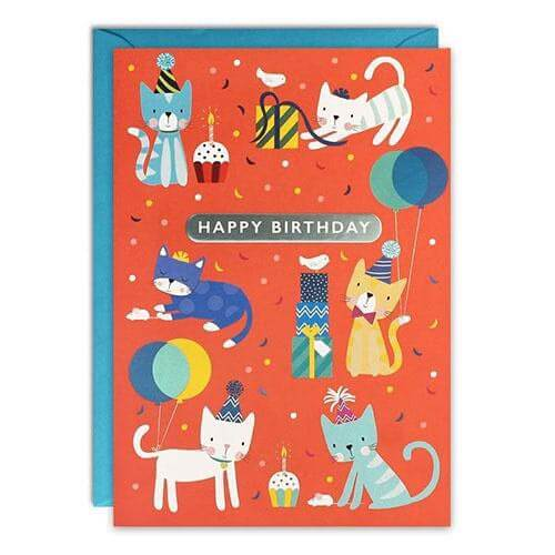 Card - Happy Birthday Kittens