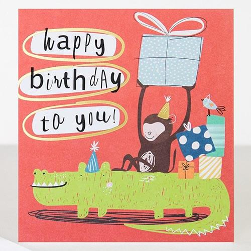 Card - Happy Birthday to You