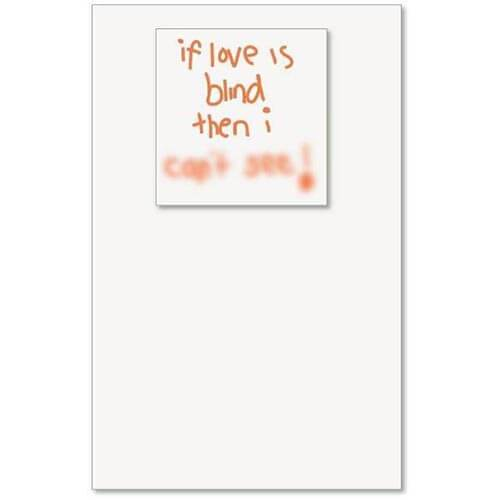 Card - Love Is Blind
